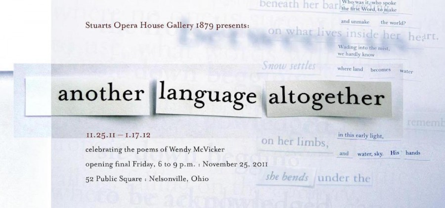 2011 Another Language Altogether poster