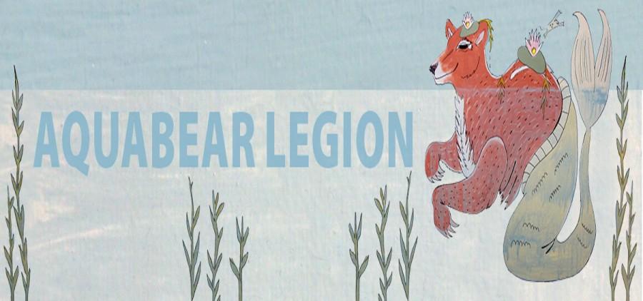 Aquabear Legion banner