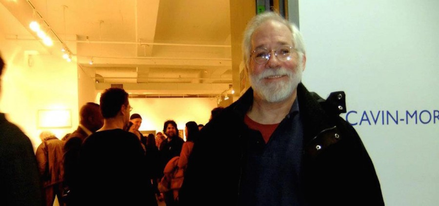 John McVicker at the Cavin-Morris Gallery, 2011 (photo provided)