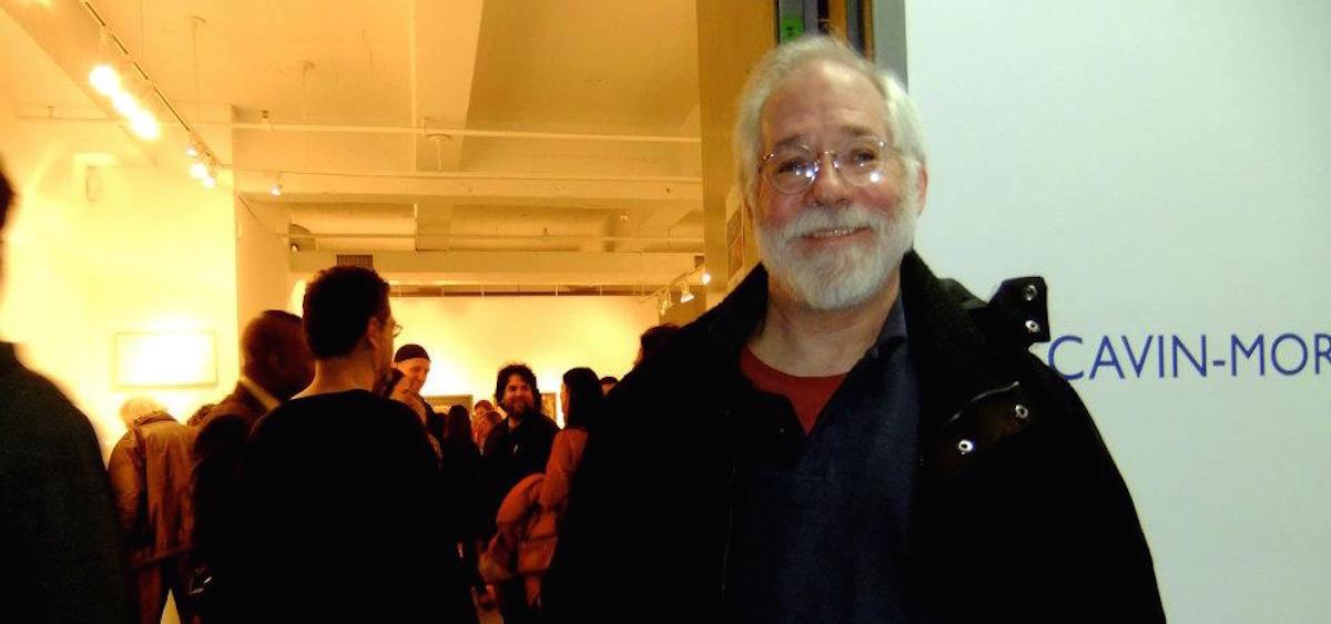 John McVicker at the Cavin-Morris Gallery, 2011 (photo provided)