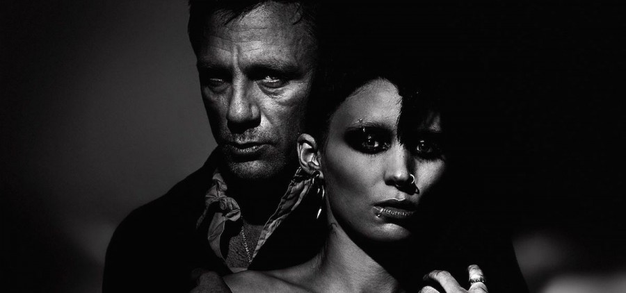 """""""The Girl with the Dragon Tattoo"""" promo shot"""