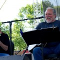 Jorma Kaukonen and Barry Mitterhoff at 2012 Nelsonville Music Festival (Sydney Good/WOUB)