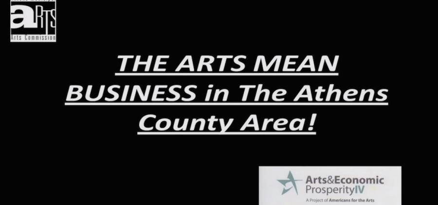 Athens County arts prosperity study