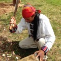 Mamerto Tindongan at 2014 Ohio Pawpaw Festival (Bryan Gibson/WOUB)
