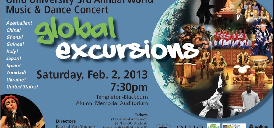 2013 Global Excursions poster