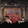 L-R: Bernie Worrell, Steve Kimock, John Kimock and George Porter, Jr. perform at the Fur Peace Ranch on Sept. 8, 2012.
