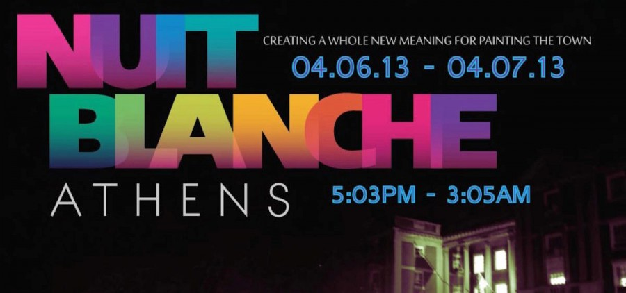 2013 Nuit Blanche poster