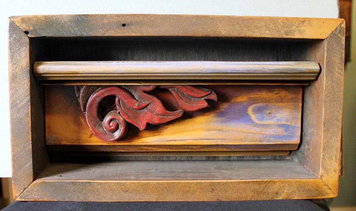 Works by Marietta artist Geoff Schenkel will be displayed at ARTS/West starting May 15 (facebook.com/resolvestudios)