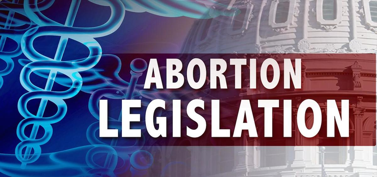 A graphic for abortion legislation