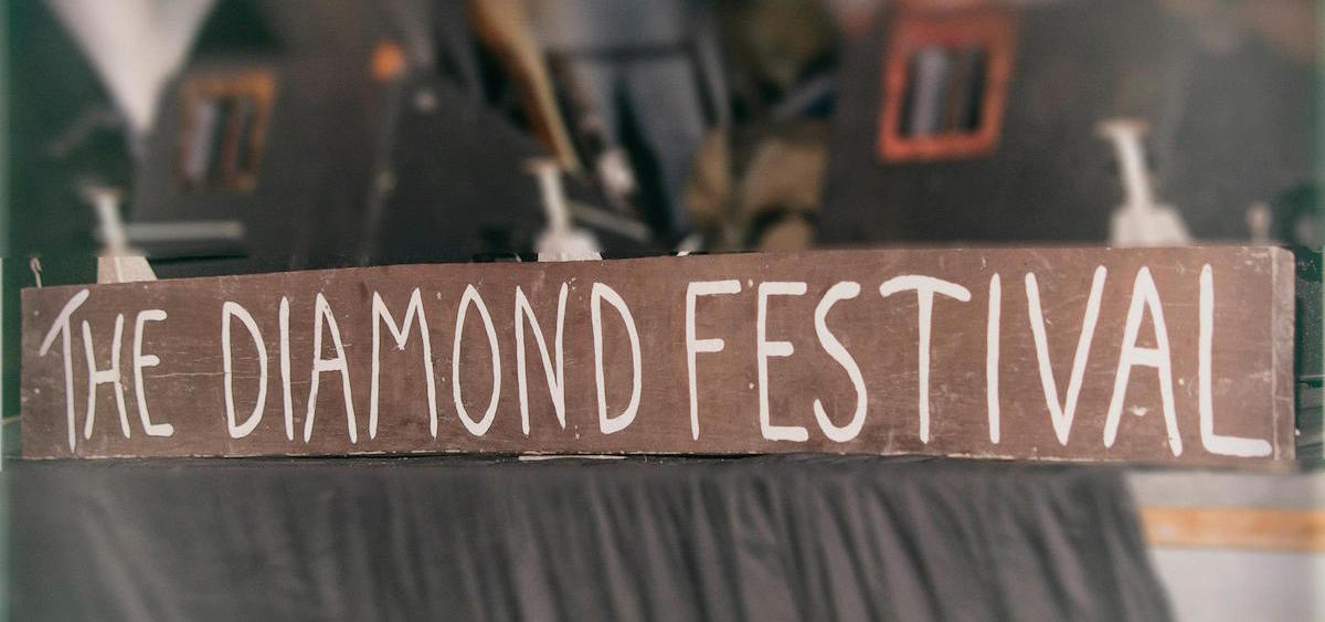 Diamond Music Festival sign