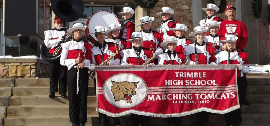 Trimble Marching Band, 2013