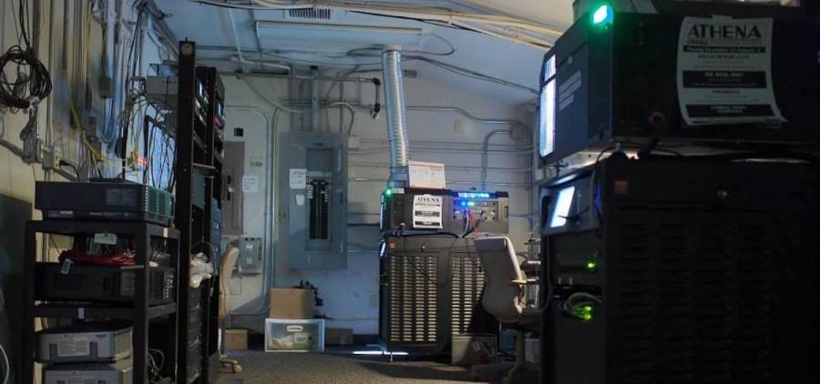 Athena Cinema digital projectors