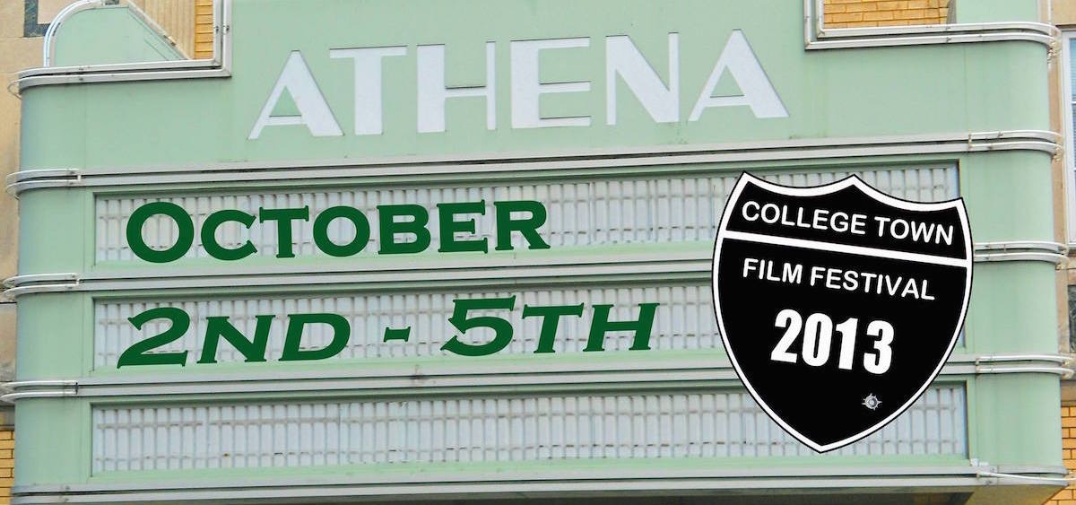 College Town Film Festival 2013 banner