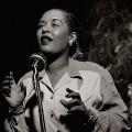 Billie Holliday, photographed by Herman Leonard, 1949