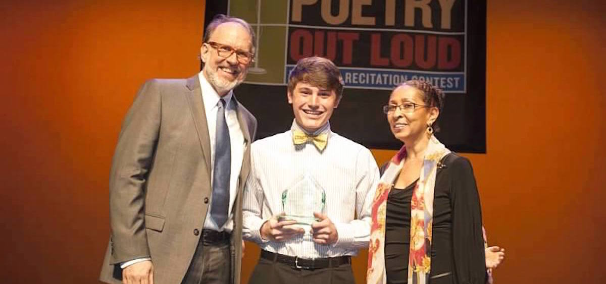 Lake Wilburn, Poetry Out Loud winner