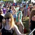 Nelsonville Music Festival crowd (Jasmine Beaubien/WOUB)