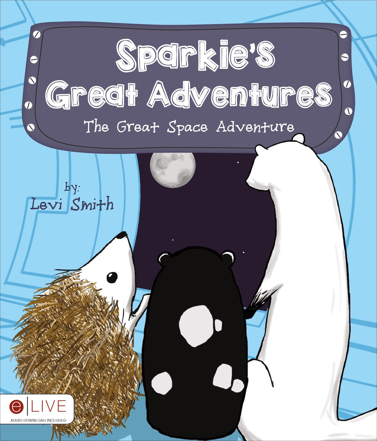 """Sparkie's Great Adventure"" cover"