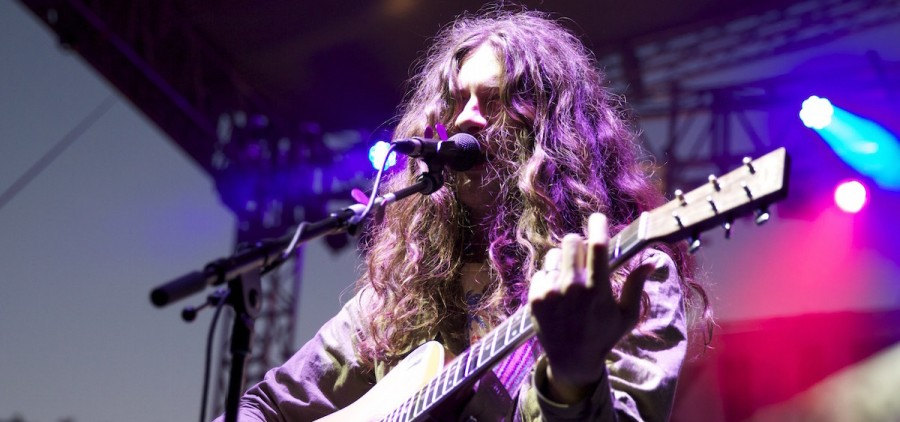 Kurt Vile at 2014 Nelsonville Music Festival (Jasmine Beaubien/WOUB)
