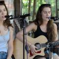 Lily & Madeleine at Gladden House, 2014