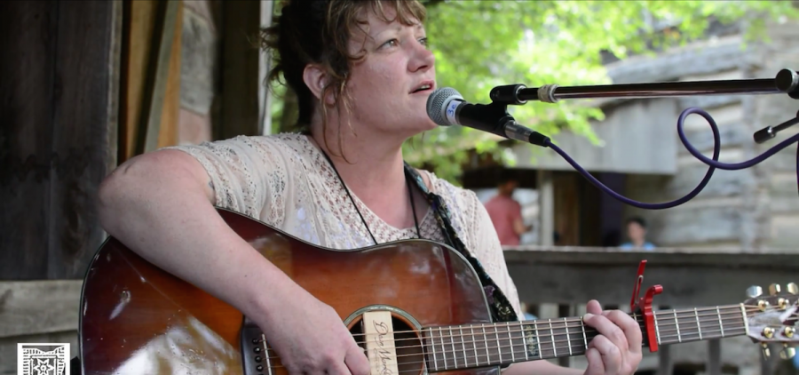Laura Nadeau at Gladden House Sessions, 2014