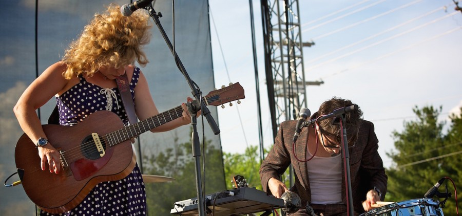 Shovels & Rope at 2014 Nelsonville Music Festival (Sarah Laubacher/WOUB)