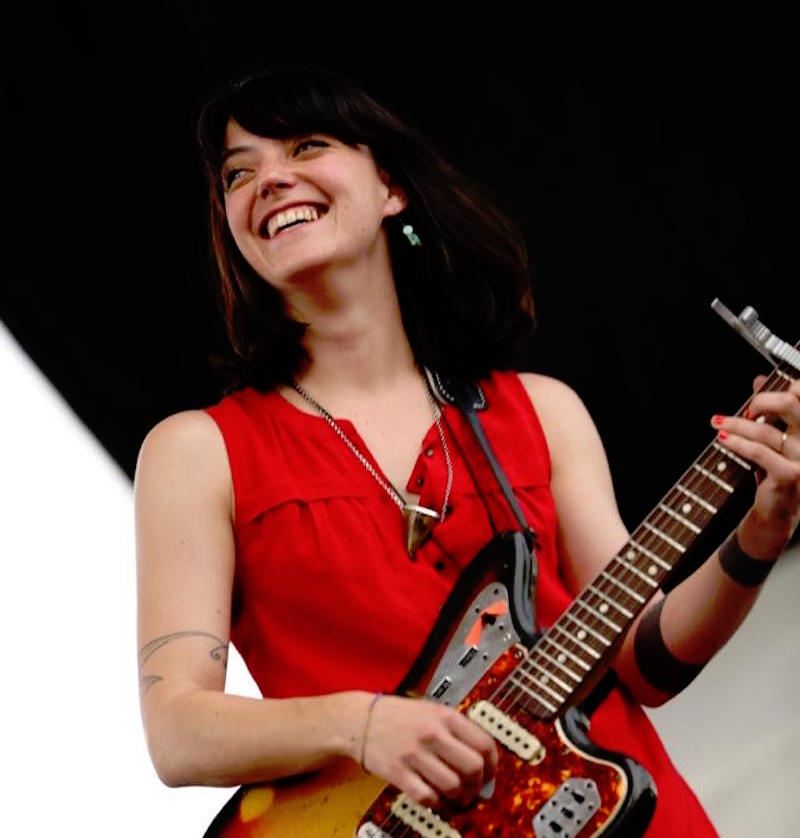 Sharon Van Etten at the 2013 Nelsonville Music Festival (Sarah Laubacher/WOUB)