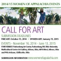 WOAP call for art flyer