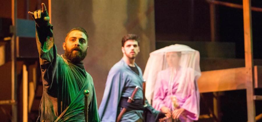 """OU Division of Theater's """"Rashomon"""""""