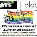 Adyn's Dream fundraiser poster