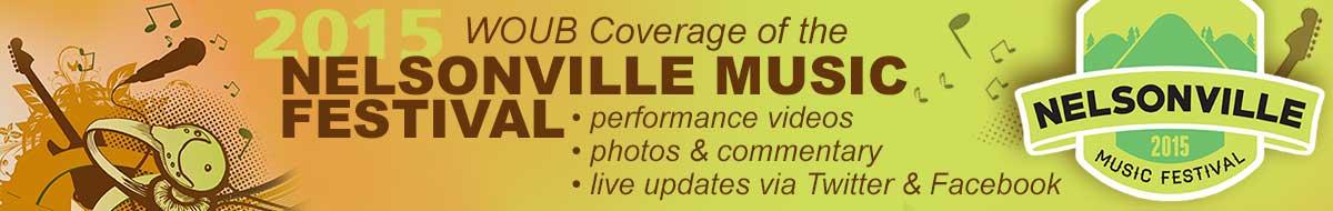 Nelsonville Music Festival special coverage banner