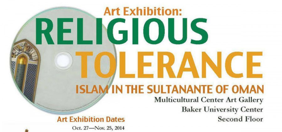 """""""Religious Tolerance"""" exhibit at Ohio University Multicultural Center"""