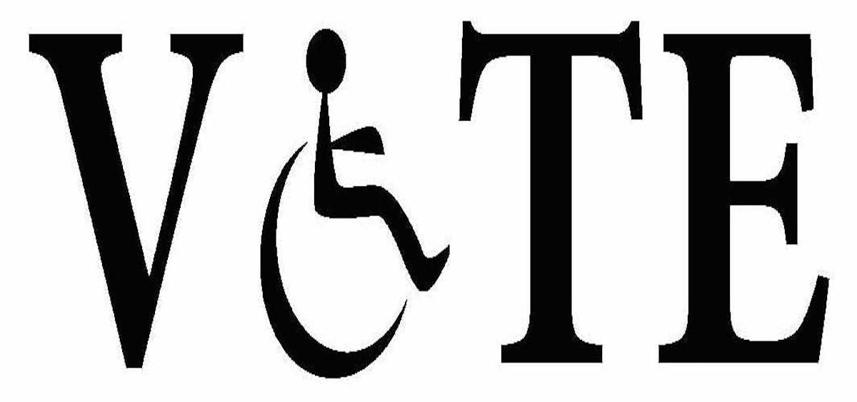 Disability voting logo