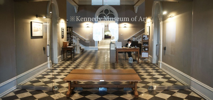 Kennedy Museum of Art entrance