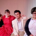 "The cast of Ohio University Eastern Theater's ""Miss Firecracker"""