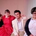 "The cast of Ohio University Eastern Theater's ""Miss Firecracker"""