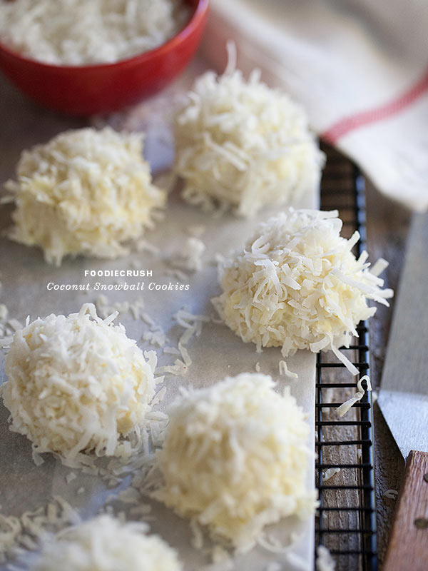Coconut-Snowball-Cookies-2-FoodieCrush