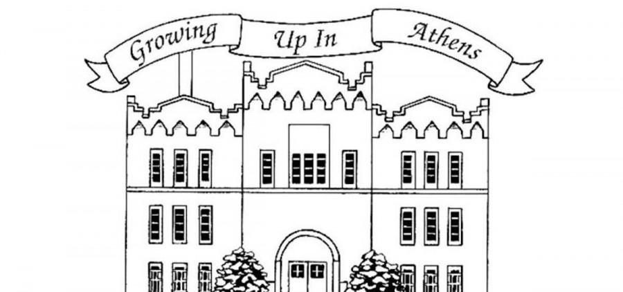 """Growing Up in Athens"" logo"