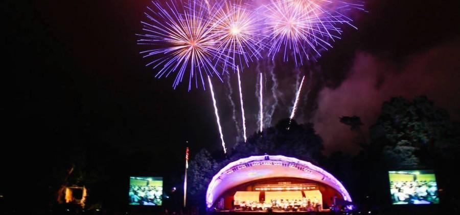 Lancaster Festival fireworks