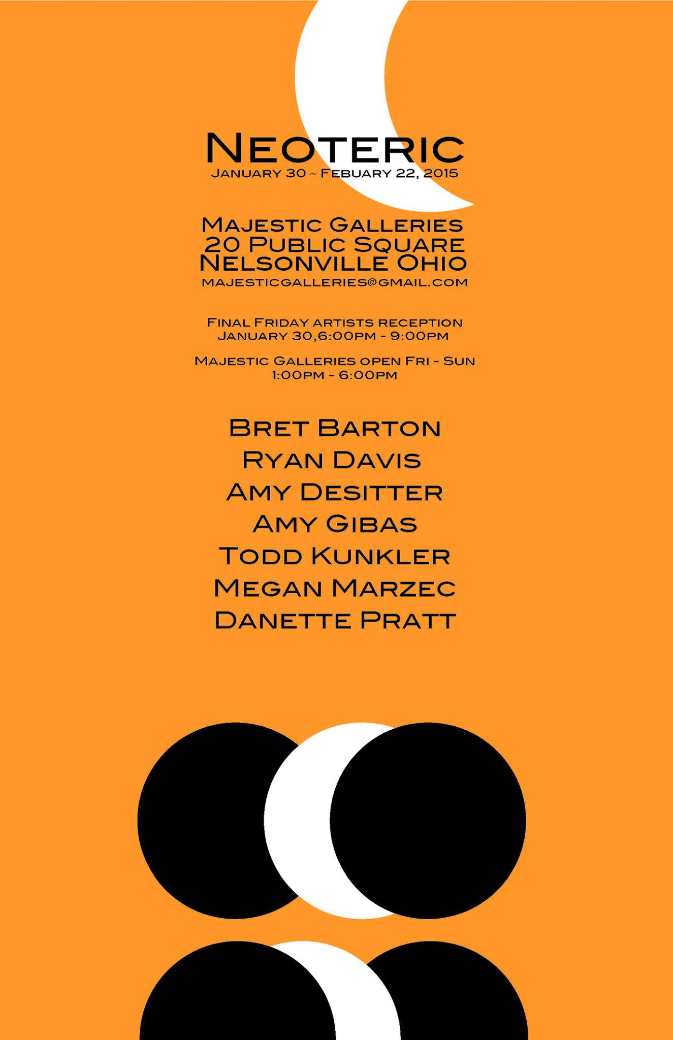 """Neoteric"" at Majestic Galleries"