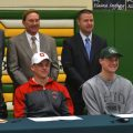 Joe Burrow and teammates at Athens HS football signing day