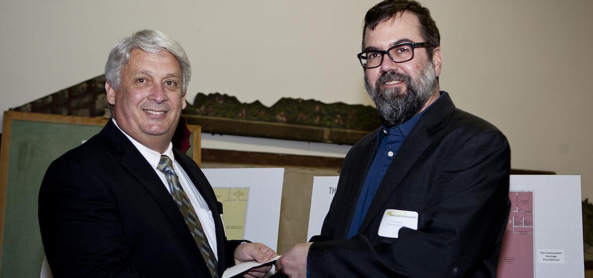 John Keirns and Tim Peacock