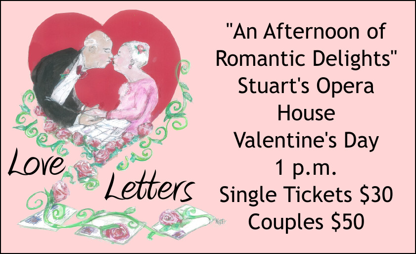 Love Letters flyer