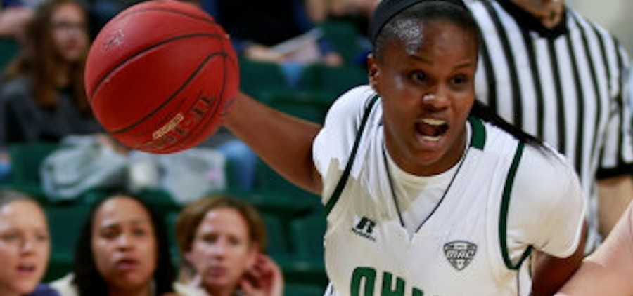 Ohio University women's basketball player