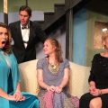 "The cast of Zanesville Community Theatre's ""Rumors"""