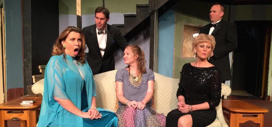 """The cast of Zanesville Community Theatre's """"Rumors"""""""