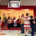 Contra dancers at Shade Community Center (photo credit: The Dancehall Desperados)