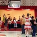 Contra dancers at Shade Community Center (photo credit: The Dancehall Desperados)