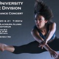 Ohio University 2015 Winter Dance Concert flyer