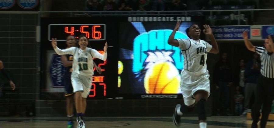Ohio womens basketball player Kiyanna Black