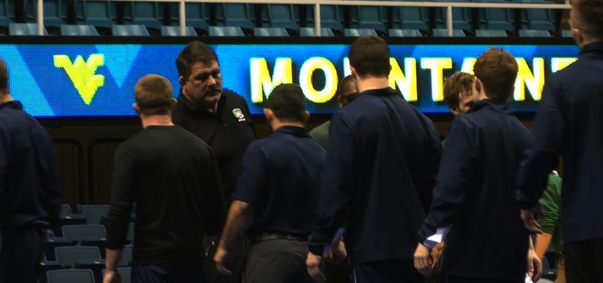 Ohio Wrestling coach Greenlee